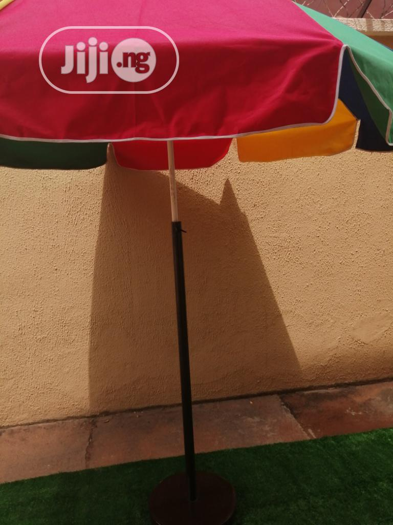 Quality Customized Parasol With Modern Stand For Sale | Garden for sale in Ilorin East, Kwara State, Nigeria