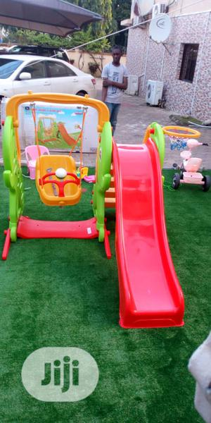 Swing Slide And Basketball   Toys for sale in Abuja (FCT) State, Wuse