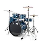 Tama Rhythm Mate Drum Sets (5 Piece) – HLB Hairline Blue | Musical Instruments & Gear for sale in Ekiti State, Ilawe
