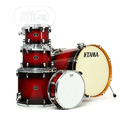 Tama Silverstar Drum Sets (5 Piece) – TRB Transparent Red Burst