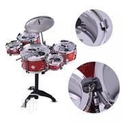 Kids Jazz Drum Set Kit Toy 5 Drums + 1cymbal With Small | Toys for sale in Lagos State, Lagos Island