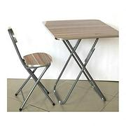 Foldable Laptop Table And Chair (Wood & Metal) | Furniture for sale in Lagos State, Lagos Island
