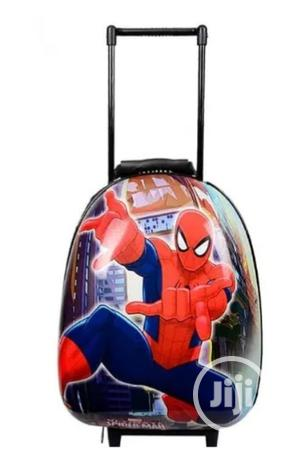 Spiderman Hard Shell Kid Trolley School Bag Backpack 15inches 2-6years | Babies & Kids Accessories for sale in Lagos State, Amuwo-Odofin
