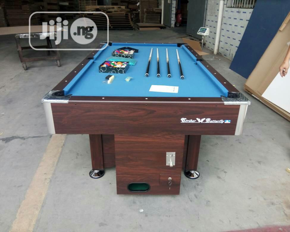 Snooker Board With Marble and Coins