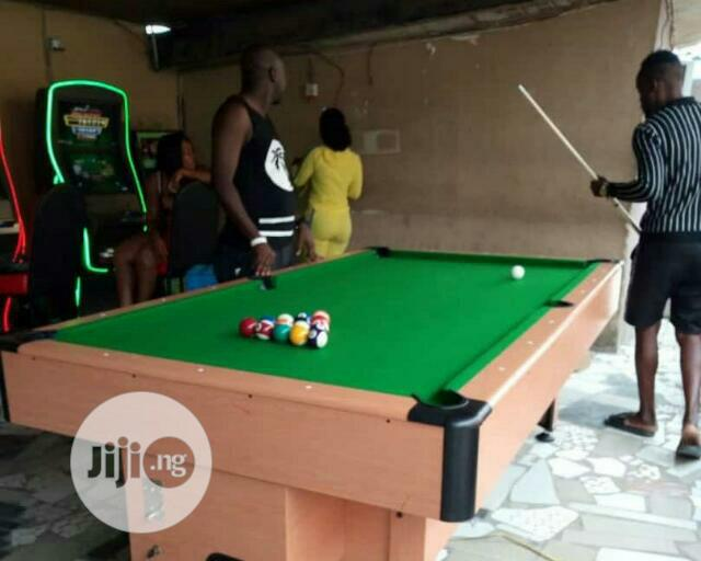Snooker Board With Marble and Coins | Sports Equipment for sale in Oshimili South, Delta State, Nigeria
