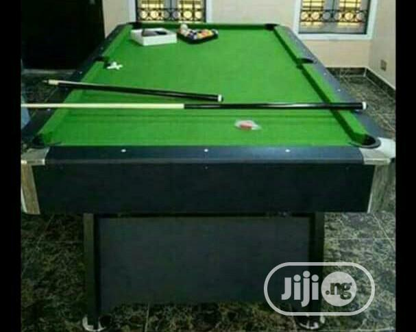 Archive: Snooker Board With Marble and Coins