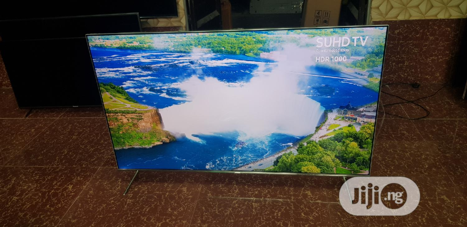 """Slimnest 55"""" Samsung Quantumdot SUHD 4k HDR Enabled Smart TV   TV & DVD Equipment for sale in Ojo, Lagos State, Nigeria"""