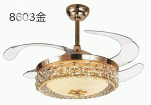 Crystal Chandelier Fan With 3 Different Colors | Home Accessories for sale in Lagos State, Badagry