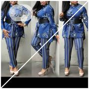 Trouser And Top With Belt | Clothing Accessories for sale in Lagos State, Ikoyi