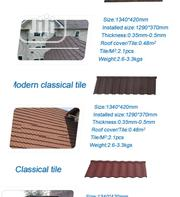 Heritage Installer New Zealand Gerard Stone Coated Roof Tile Black   Building & Trades Services for sale in Lagos State, Lekki Phase 1