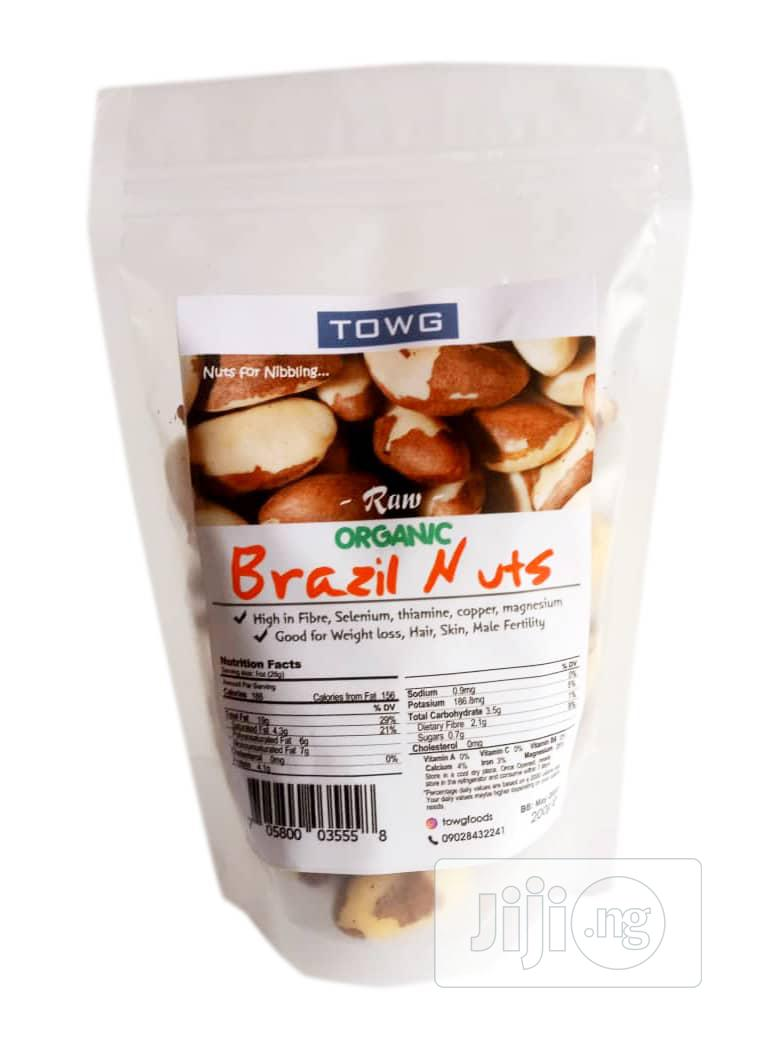 Towg Organic Brazil Nuts - 200g