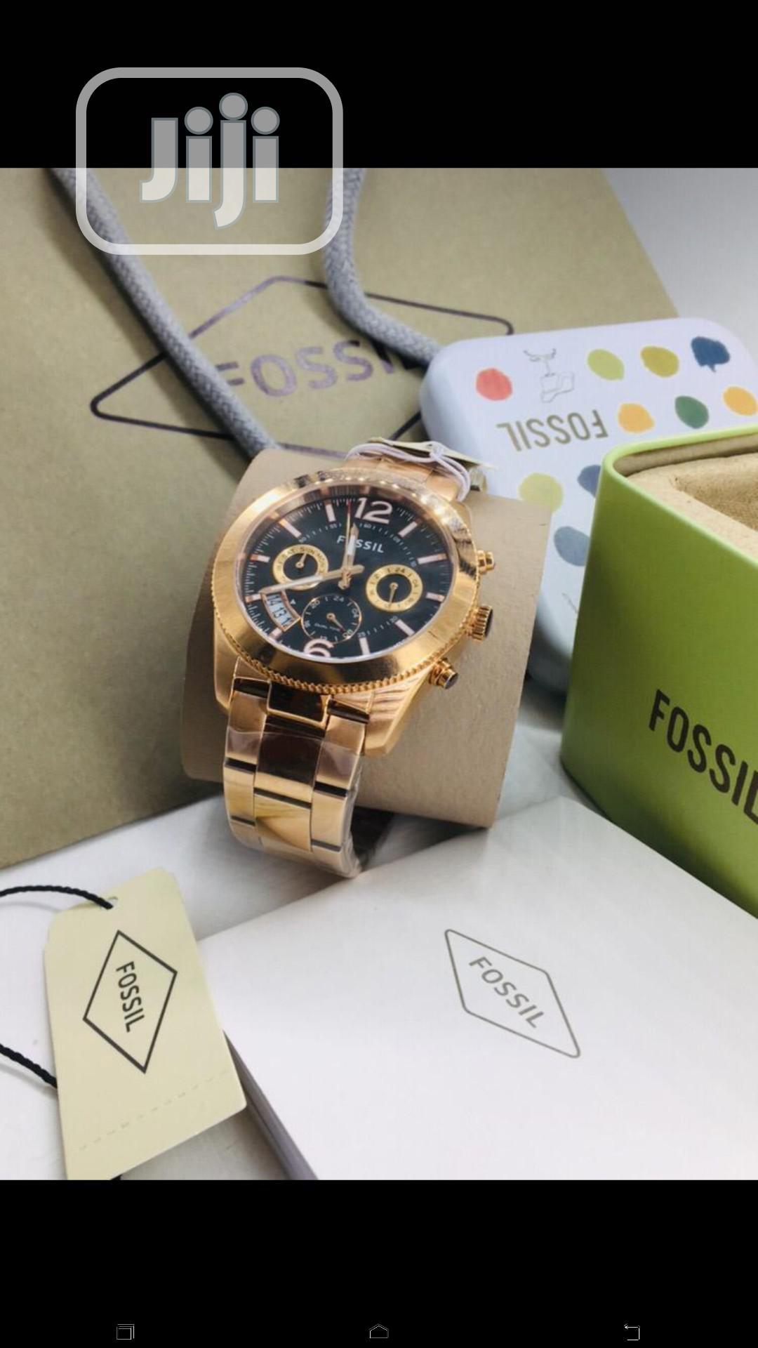 Fossil Chain Wrist Watch