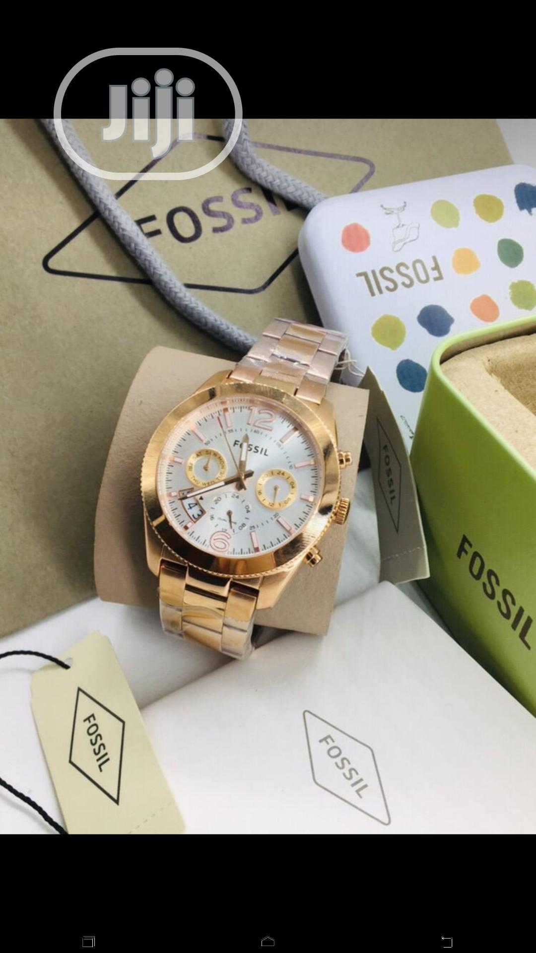 Fossil Chain Wrist Watch   Watches for sale in Lagos Island, Lagos State, Nigeria