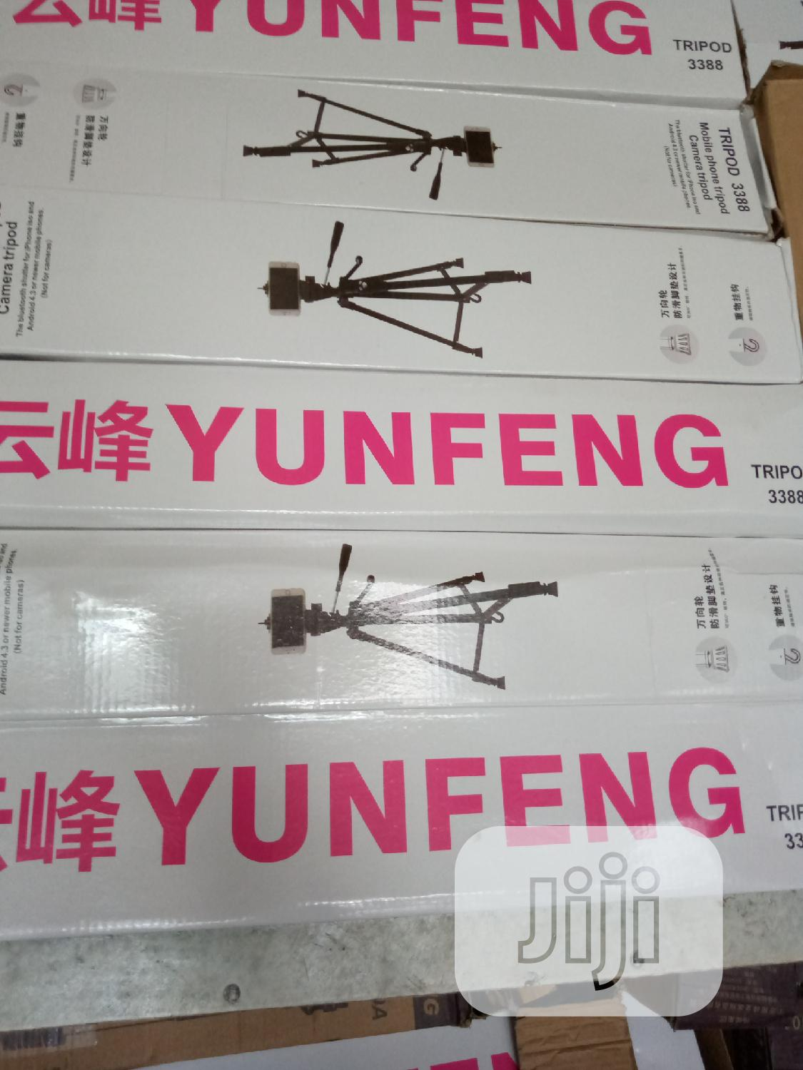 New Yunfeng Tripod Mini | Accessories & Supplies for Electronics for sale in Ikeja, Lagos State, Nigeria