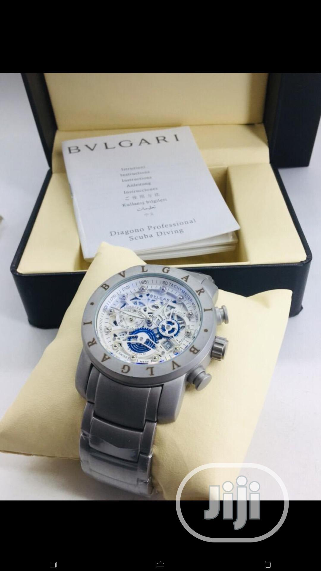 Bvlgari Chain Wrist Watch
