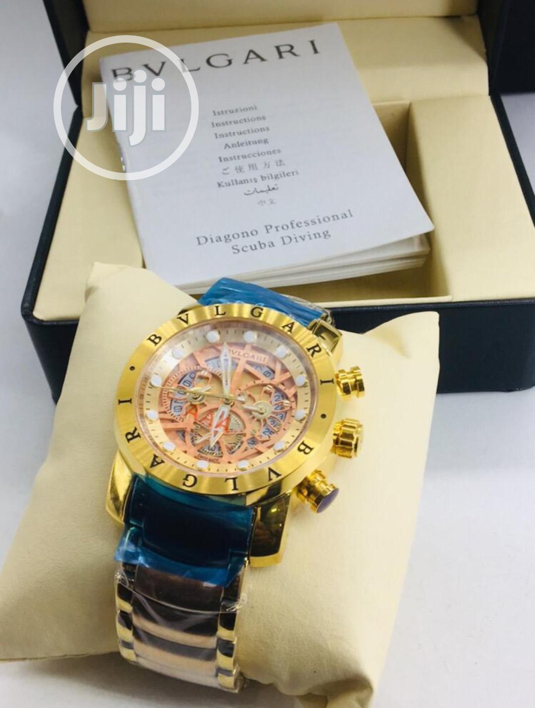 Bvlgari Chain Wrist Watch | Watches for sale in Lagos Island (Eko), Lagos State, Nigeria