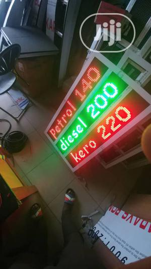 Led (Outdoor) Price Board For Filling Stations | Stage Lighting & Effects for sale in Lagos State, Apapa