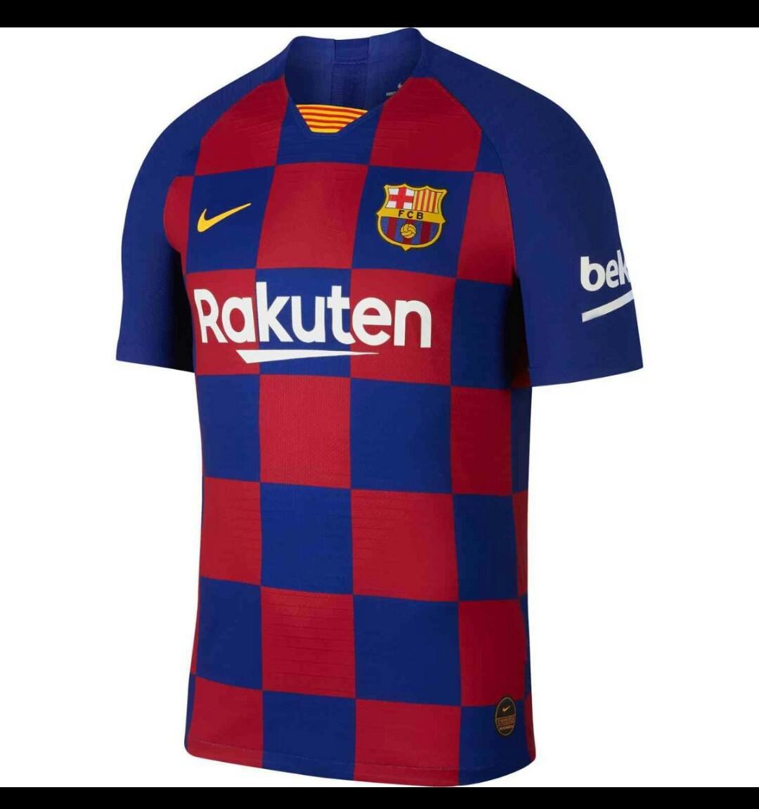 Fc Barca New Season Jersey