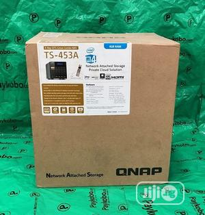 Qnap Ts-453a 4-bay Nas Enclosure With 4gb RAM Storage | Computer Hardware for sale in Lagos State, Ikeja