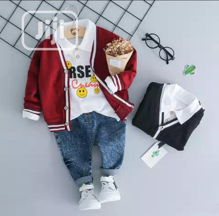 Little Boys Smart 3 Piece Wear | Children's Clothing for sale in Surulere, Lagos State, Nigeria