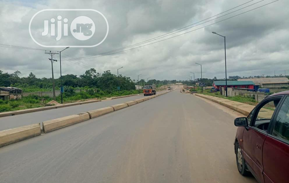 Plots of Commercial Land at Bolanle Ambode Poka Epe For Sale.