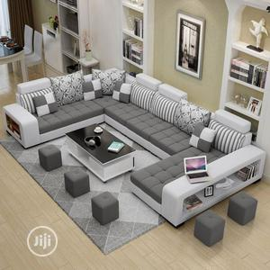 Luxuries Exotic Fabrics Sectional U Shape Sofas | Furniture for sale in Lagos State, Ikeja