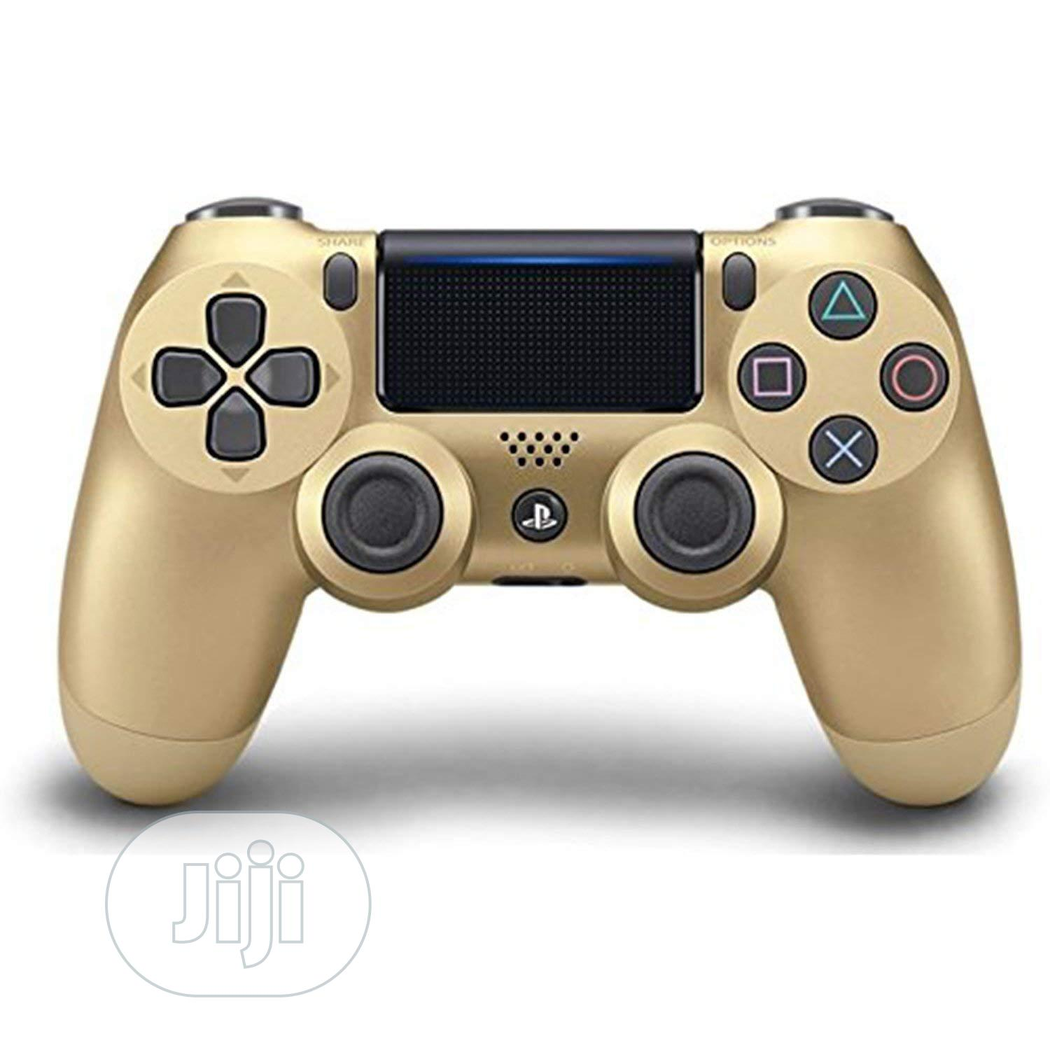 Dualshock®4 Wireless Controller - All Colors- Playstation 4 | Accessories & Supplies for Electronics for sale in Ikeja, Lagos State, Nigeria
