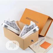 Louis Vuitton Gray/White Sneakers | Shoes for sale in Lagos State, Lagos Island