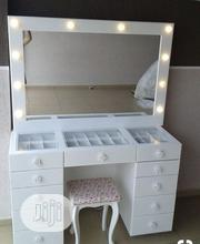 Make Up Dressing Mirror And Table | Home Accessories for sale in Lagos State, Lekki Phase 2