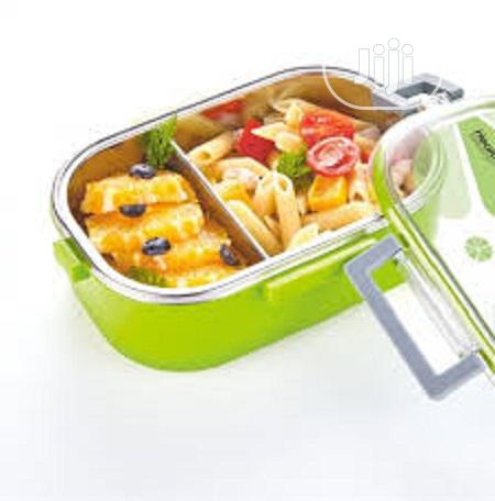 Lunch Box Stainless Steel 2 In 1
