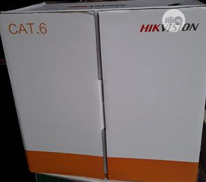 Hikvision Cat 6 305M Utp Lan Cable Pure Copper | Accessories & Supplies for Electronics for sale in Lagos State, Ikeja