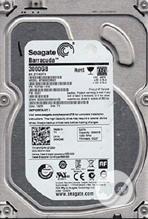 Seagate 3.0TB Internal SATA Hard Drive For Desktops/Dvrs   Computer Hardware for sale in Lagos State, Ikeja