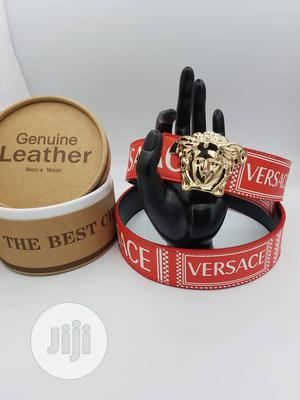 Versace Designers Belt Available as Seen Order Yours Now   Clothing Accessories for sale in Lagos State, Lagos Island (Eko)