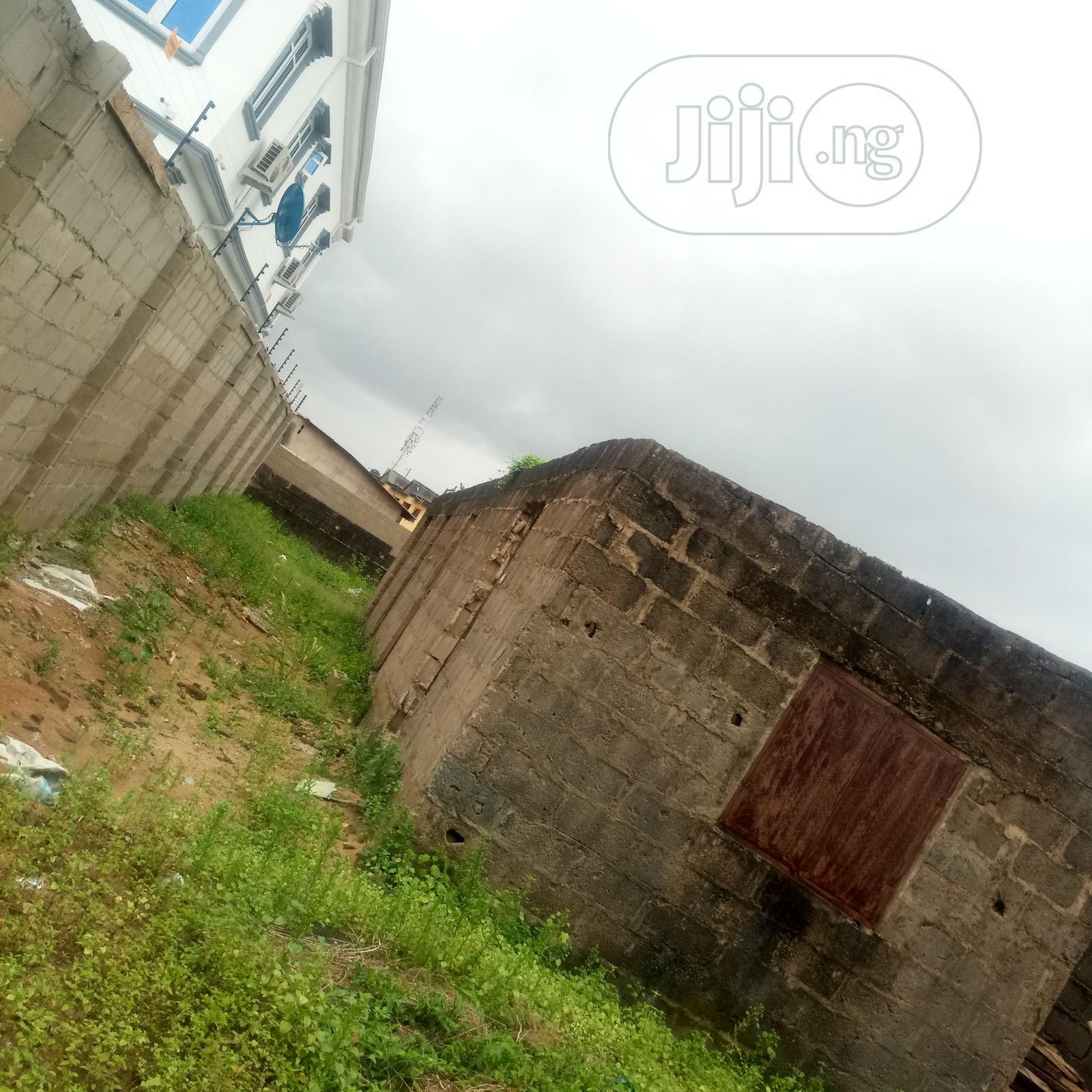 Archive: Standard Half Plot of Land for Sale at Dangote Ayobo.