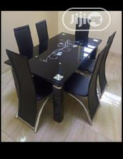 PREMIUM 6IX SEATER DINNING SET With 6 Leather CHAIRS,Used Every Home   Furniture for sale in Lagos State, Lekki Phase 2
