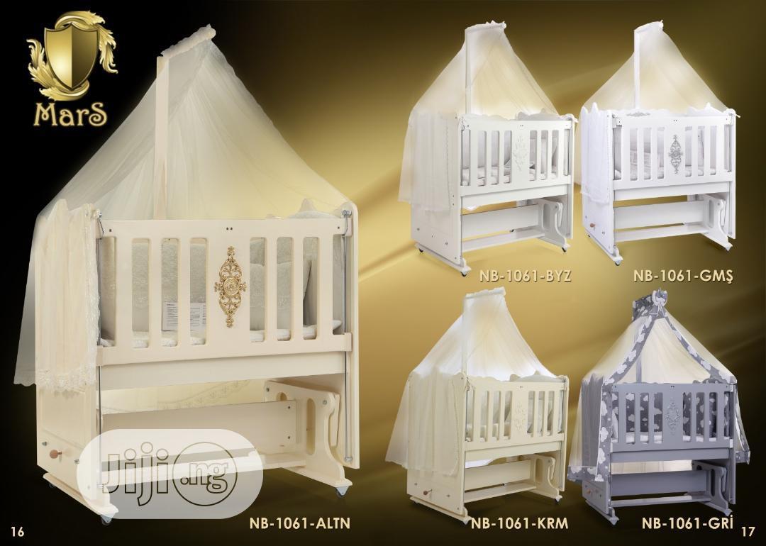 60X100 Mars Baby Cot (Baby Bed)