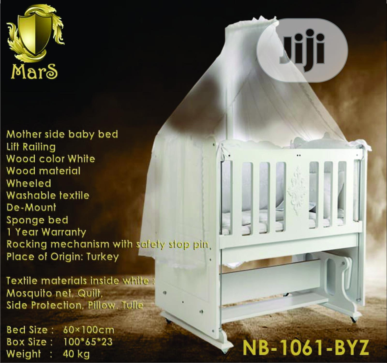 60X100 Mars Baby Cot (Baby Bed) | Children's Furniture for sale in Ajah, Lagos State, Nigeria