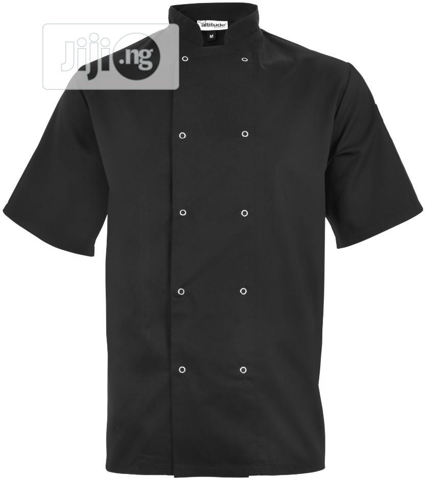 Zest Chef Jacket - Unisex Short Sleeve