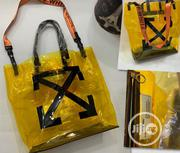 Off-White Transparent Hand Bags | Bags for sale in Lagos State, Surulere