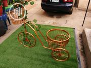 Quality Metal Gold Bicycle With Flower Pots For Sale | Garden for sale in Katsina State, Dandume