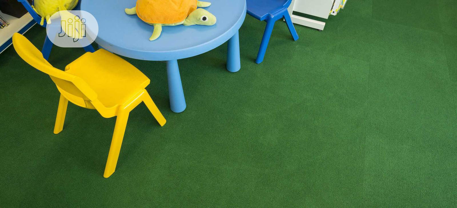 Artificial Grass, School Kids Table And Chair For Sale In Ikeja