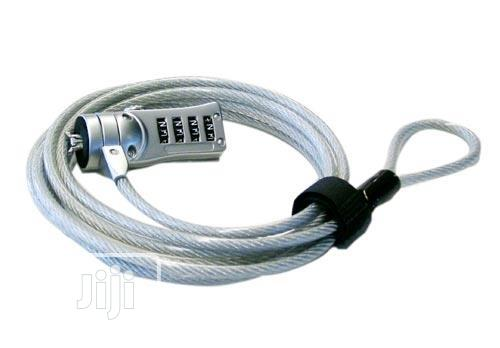 F&K Technology Notebook Combination Number Computer Cable Lock | Computer Accessories  for sale in Wuse 2, Abuja (FCT) State, Nigeria