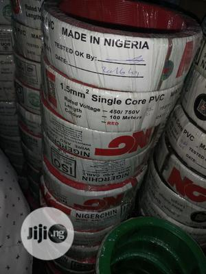 1.5mx1core Single Cables Nigerchin | Electrical Equipment for sale in Lagos State, Lagos Island (Eko)