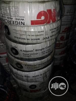 6mmx1core Single Cable Nigerchin | Electrical Equipment for sale in Lagos State, Lagos Island (Eko)