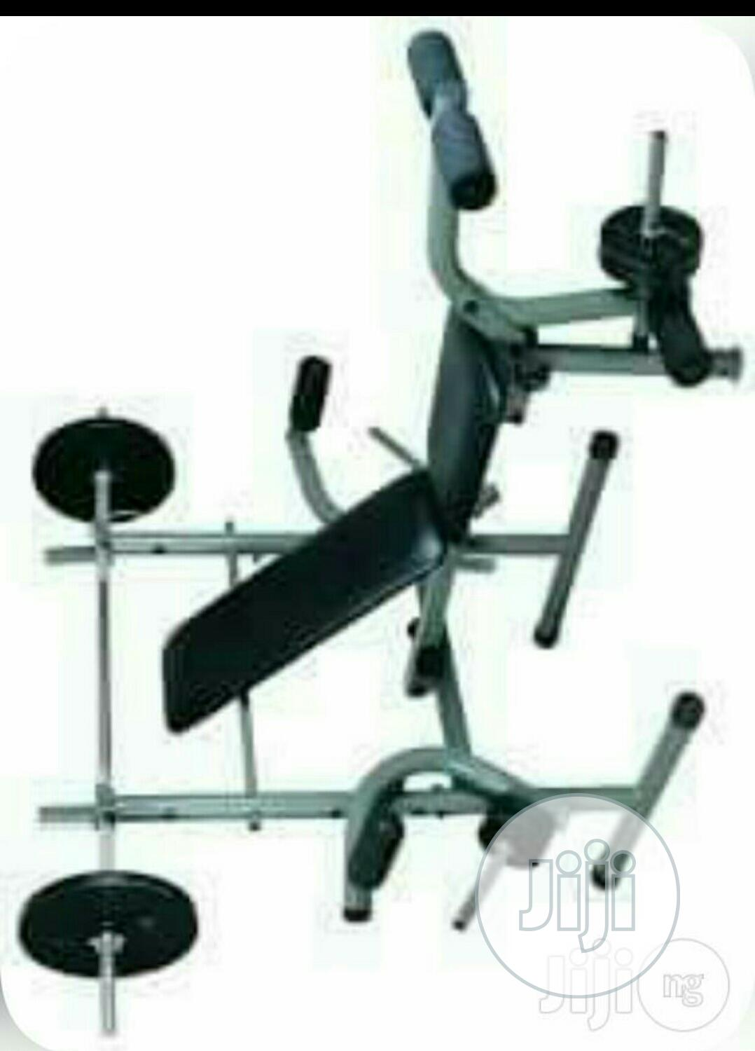 American Fitness Weight Beach With 45kg Dumbell