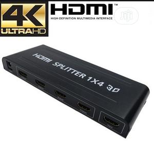 4 Way HDMI Splitter Amplifier - 1 In 4 Out 3D 1080p 4K Ultra HD | Accessories & Supplies for Electronics for sale in Lagos State, Ikeja