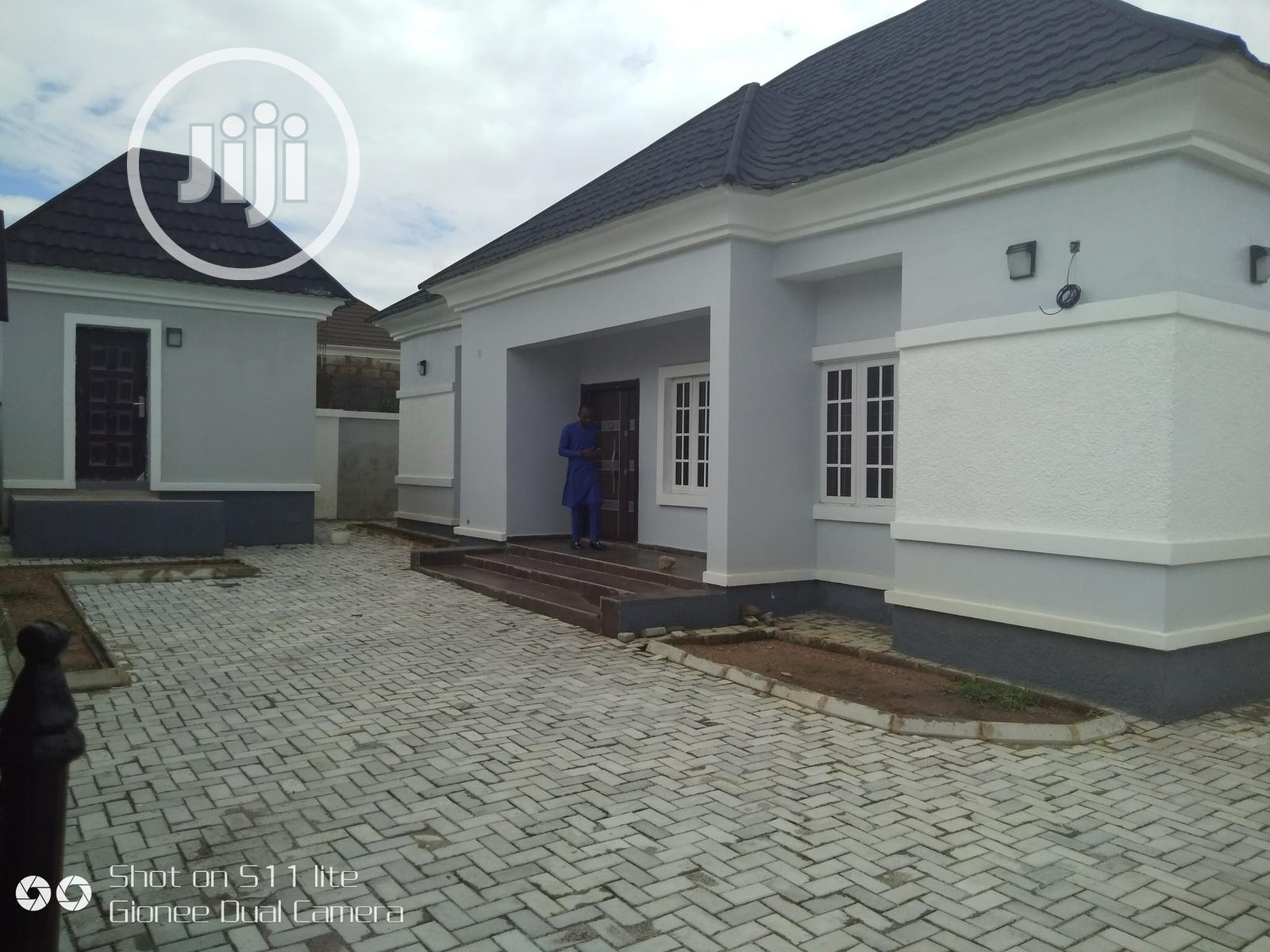 Its a 3bed Room Bungalow Brand New House
