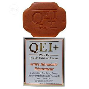 Qei+ Active Brightening Exfoliating Soap With Carrot Oil Harmonie   Skin Care for sale in Lagos State, Amuwo-Odofin