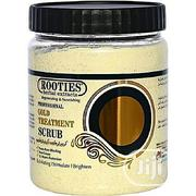 Rooties Herbal Extracts Gold Face And Body Whitening Treatment Scrub | Skin Care for sale in Lagos State, Amuwo-Odofin