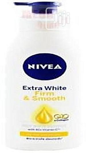 Nivea Extra White Firm Smooth Lotion With Q10 and Collagen | Skin Care for sale in Lagos State, Amuwo-Odofin